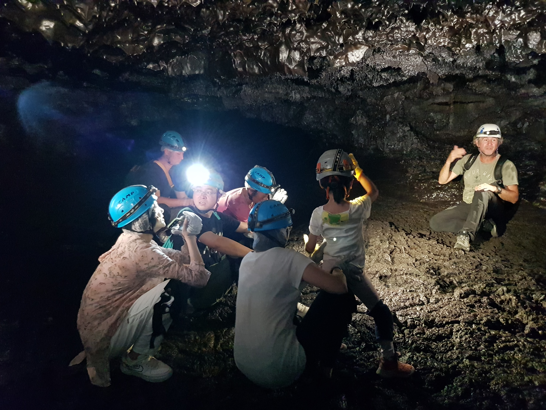 tunnel de lave réunion