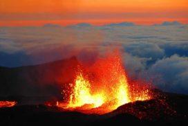éruption volcan fournaise Réunion